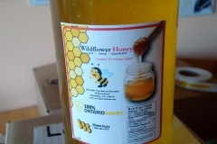 1kg jar of wild honey